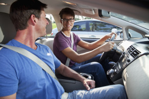 Teens are not driving as much as their parents, and they're not lining up to get their licenses, either. But whether it marks a new trend that will endure or not is unknown. And the theories range from recession to generational preference. (©istockphoto.com/kali9)