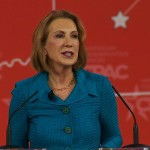 Former business executive and U.S. Senate nominee for California, Carly Fiorina, (R-CA), speaks at the Conservative Political Action Conference in Washington, D.C. on Feb. 26, 2015.