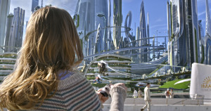 Disney's TOMORROWLAND  Casey (Britt Robertson)   Ph: Film Frame  ©Disney 2015 (Disney Enterprises Inc.)