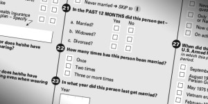 Questions on marital status from the American Community Survey will be kept afterall. (American Community Survey, U.S. Census Bureau)