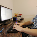 Jackson Goeckeritz works on a programming lesson at his home in Highland, Utah, Friday, June 26, 2015. (Chris Samuels, Deseret News)