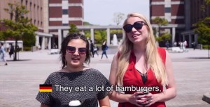 What stereotypes do people outside of the United States assign to Americans? Well, this video gives us a pretty good idea. (Courtesy: YouTube)