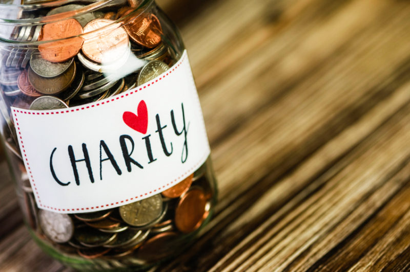 Everyone wants to change the world, and donating money, time or supplies to charities gives us a sense of making a difference. (Catherine Lane, ©istockphoto.com/CatLane)