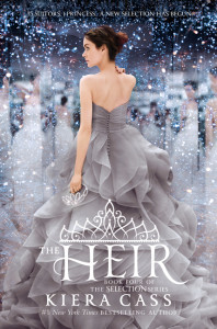 """""""The Heir"""" is the fourth book in Kiera Cass' Selection series.  (HarperCollins)"""