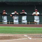 Idaho Falls Chukars vs. Ogden Raptors, July 3, 2015 in Idaho Falls, Idaho.