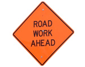road work graphic