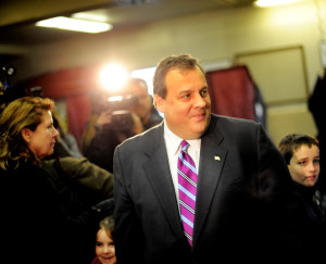 "Christie, who earlier made headlines by suggesting teacher unions deserved a punch in the face, reinforced that sentiment, arguing that ""unions are ""punching us all the time,"" The Associated Press reported. (Stephen Chernin, ©istockphoto.com/EdStock)"