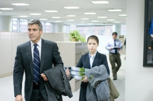 George Clooney and Anna Kendrick in Up in the Air (2009) (Paramount Pictures)