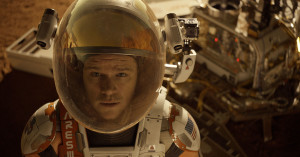 "Astronaut Mark Watney (Matt Damon) finds himself stranded and alone on Mars in ""The Martian."" (Twentieth Century Fox)"