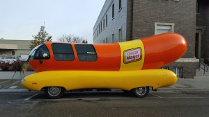Riding In The Wienermobile Hitching A Lift In The Worlds Most Famous Hot Dog also Win Your Very Own Wienermobile For Day also Item 99409 further Behind The Scenes Of The Oscar Mayer Wienermobile Hot Dogs Slideshow furthermore 643313001. on oscar mayer wienermobile ride
