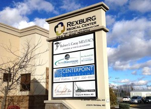 rexburg medical center sign