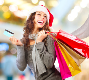 Retailers aren't very optimistic about the Christmas season, but millennial consumers sure are. They're expected to spend more this year, especially on themselves. (DepositPhotos)
