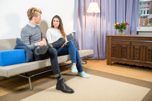 A new study found that couples in therapy saw their relationships change based on their voices. (DepositPhotos)