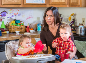 In the midst of cooking, buying presents and organizing family events, women face a great deal of stress during the holiday, and Medical Xpress reported it can lead to heart damage. (DepositPhotos)