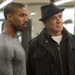 "Michael B. Jordan as Adonis Johnson and Sylvester Stallone as Rocky Balboa in ""Creed."" (Barry Wetcher, Warner Bros. Pictures)"