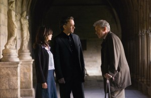 Tom Hanks, Ian McKellen and Audrey Tautou in The Da Vinci Code (2006) (Columbia Pictures)