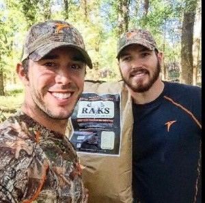 Country thespian Craig Strickland, 29 (left), is blank after an Oklahoma steep sport trip. His crony Chase Morland, 22 (right), has been found passed during Kaw Lake. In box we don't come back, @BackroadCRAIG and we are going right by Winter Storm Goliath to kill ducks in Oklahoma. #IntoTheStorm, Morland tweeted late Saturday.