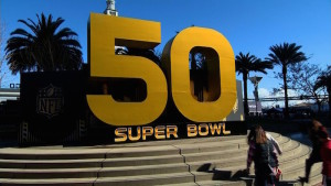 Fans and media are gearing up for the big game at Super Bowl City in San Francisco.