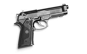 generic gun graphic - shutterstock
