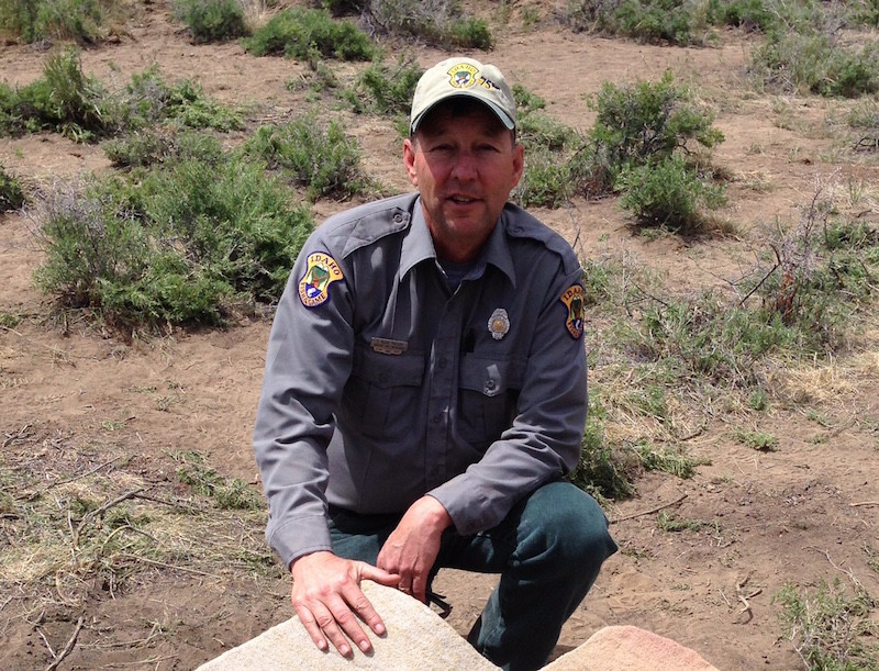 Retired fish and game officer honored with national award for Fish and game idaho
