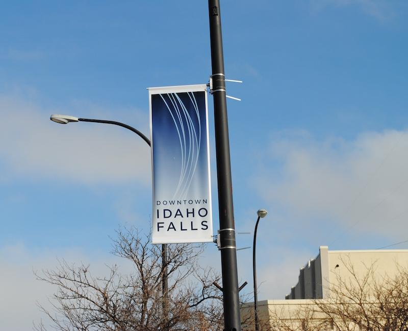 New Idaho Falls Signs Going Up