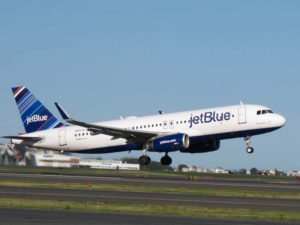Airbus delivered it's first aircraft assembled at its U.S. manufacturing plant to JetBlue.