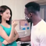 A black man and a young Chinese woman are flirting, as he leans in for a kiss she thrusts a detergent capsule in his mouth and bundles him into a laundry machine. She sits atop the machine as the man spins and screams inside until, to her apparent delight, out pops a handsome Chinese man dressed in a clean, white t-shirt. This staggeringly offensive advert is attracting outrage on both the Chinese and wider web, with users blasting it for being racist.