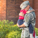 A Marine dad had just 10 days to celebrate 12 months' worth of holidays with his little boy, and this particular mission was a big success. (DepositPhotos)