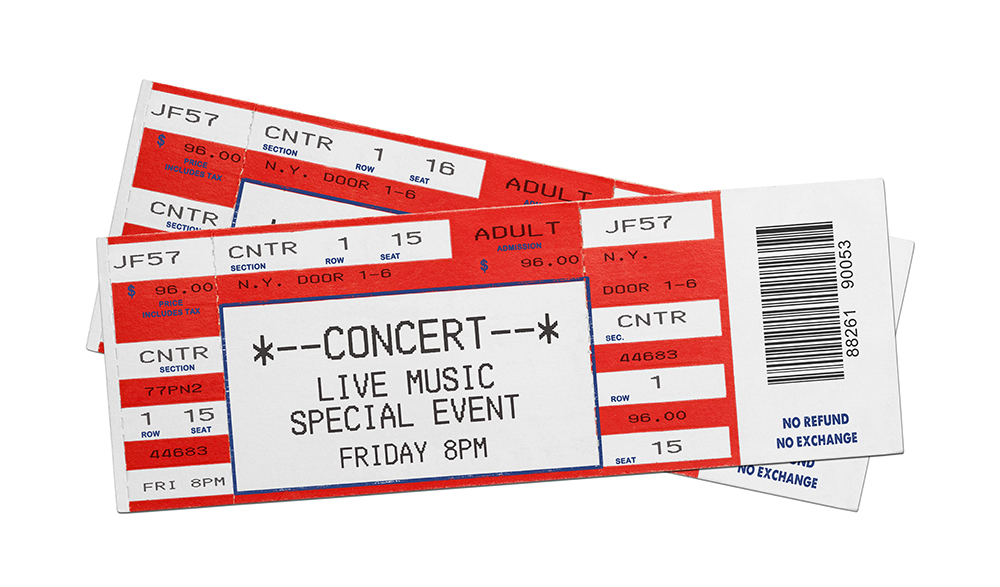 Ticketmaster issues millions of free ticket vouchers east idaho news for Concert ticket template free download