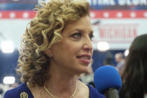 "Democratic senators are discussing whether Democratic National Committee Chairwoman Debbie Wasserman Schultz should be removed as the head of the party because she has become ""too toxic"" in the ongoing Democratic civil war."