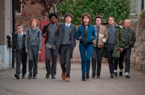 "The cast of ""Sing Street,"" an Irish coming-of-age musical, now on Blu-ray and DVD. (Weinstein/Anchor Bay)"