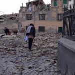 A 6.2-magnitude strong, shallow earthquake hit central Italy early Wednesday, killing at least 37 people and leaving rescuers desperately digging through the rubble to free survivors. Italian Red Cross President Francesco Rocca tweeted this picture.  Credit: Francesco Rocca/Italian Red Cross