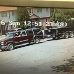 Suspect Vehicle and Trailer