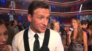"Protesters rushed the stage after Ryan Lochte's first performance on ""Dancing with the Stars,"" interrupting the live show Monday evening. The incident occurred as Lochte was receiving one of the judge's critique of his dance routine."