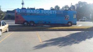 DNC waste bus