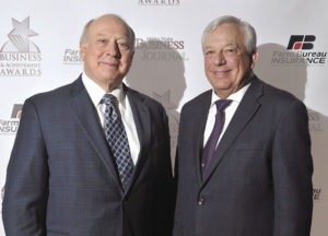 Frank VanderSloot and Phil Meador were named to the Southeast Idaho Business and Achievement Awards Hall of Fame on Wednesday night in Pocatello. | Doug Lindley, Idaho State Journal